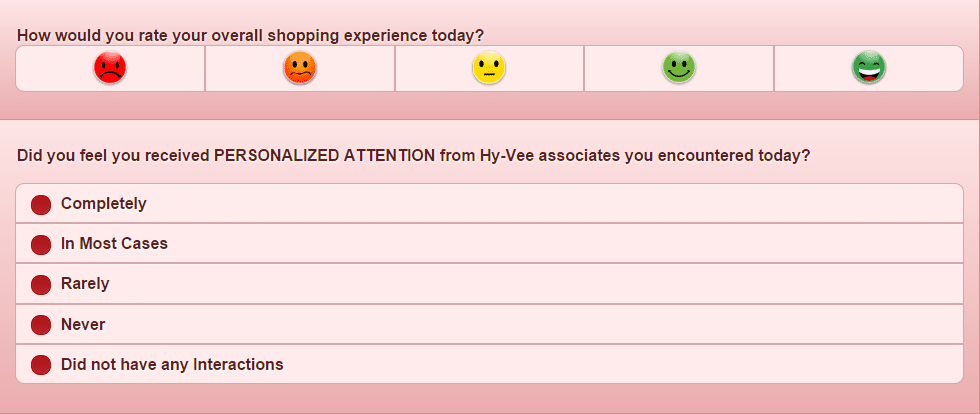 hy vee survey page 3