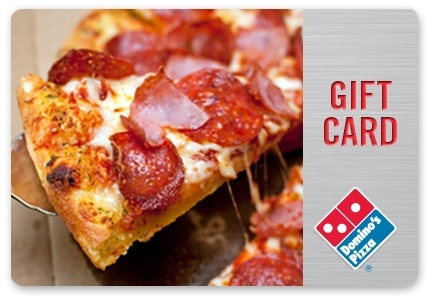 dominos pizza gift card deals and options