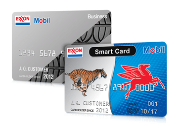 Exxon Mobil credit card options for an Exxon Mobil account online
