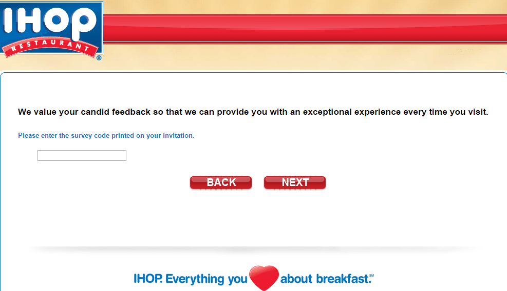 Ihop survey page 2