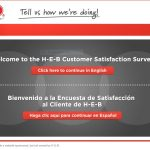 HEB survey screenshot