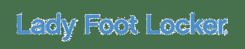 Lady foot locker logo on lady foot locker survey page