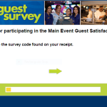 main event survey first page screenshot