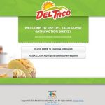 del taco survey screenshot