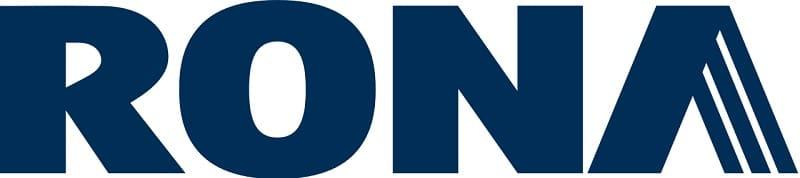 the logo of Rona