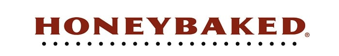 wide logo of the honeybaked company