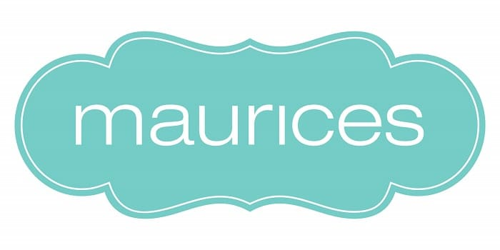 light blue maurices logo wide