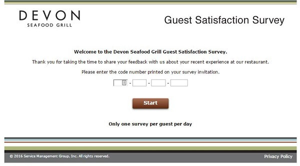devon survey screenshot