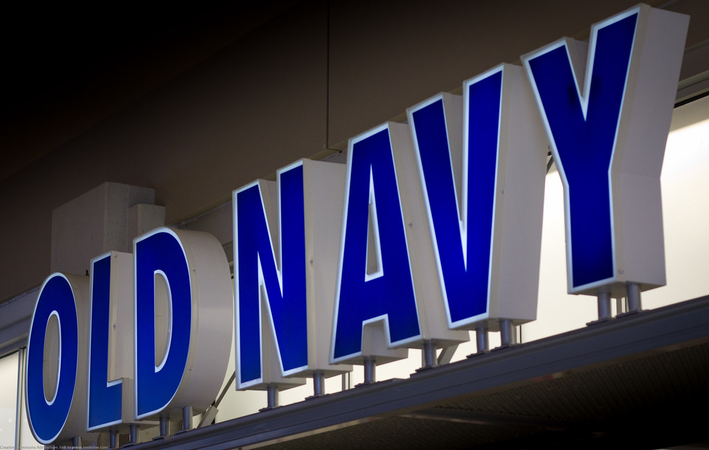 Old Navy Sign