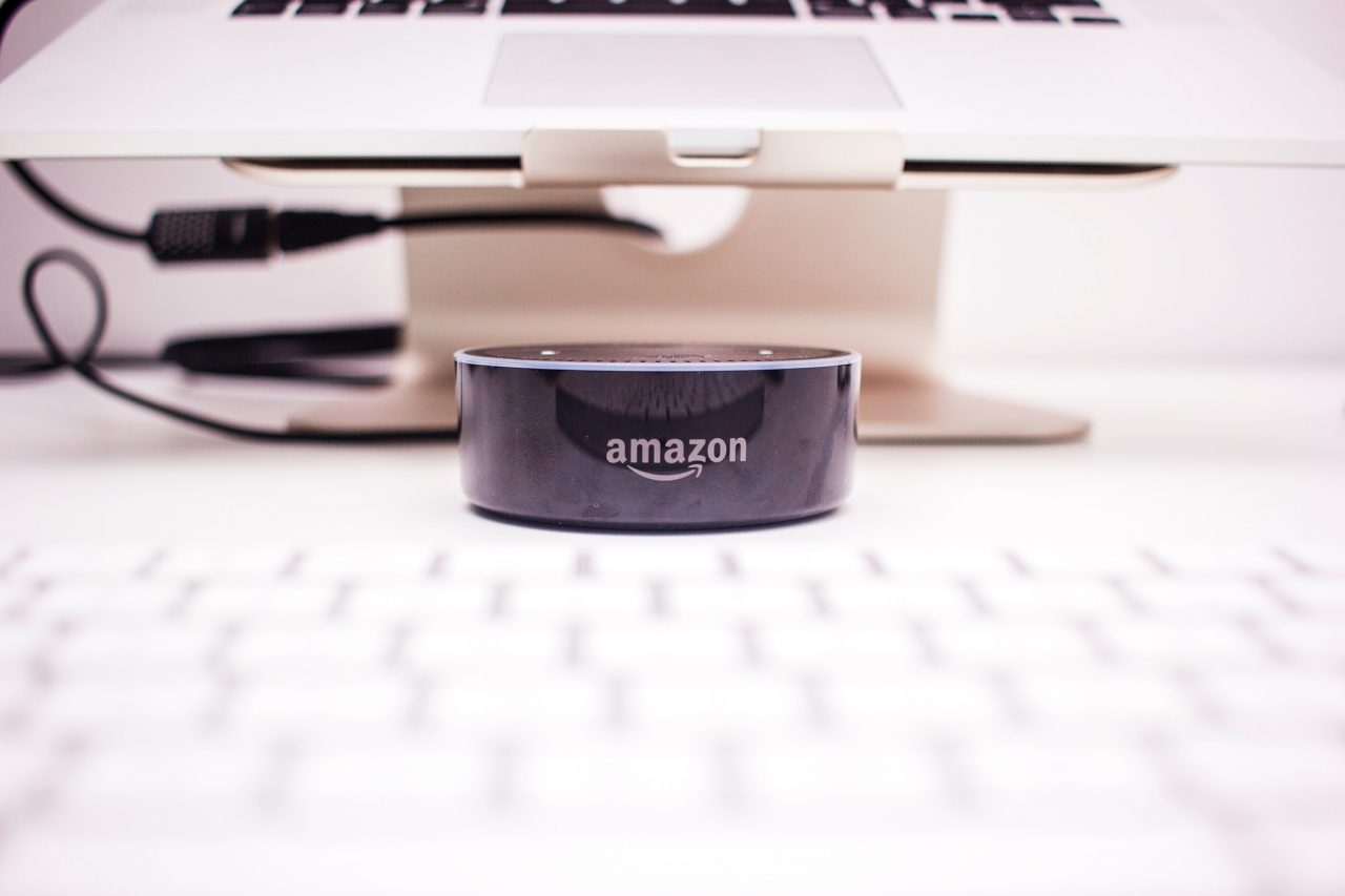 Photo of a Amazon product on top of a table